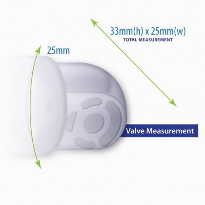Milk Planet Beaute Glitter Accessories - Valve (2 Pcs)