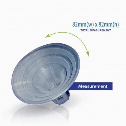 Milk Planet Beaute Glitter Duet Accessories - Soft Fit Breastshield (22mm/24mm/27mm/30mm)