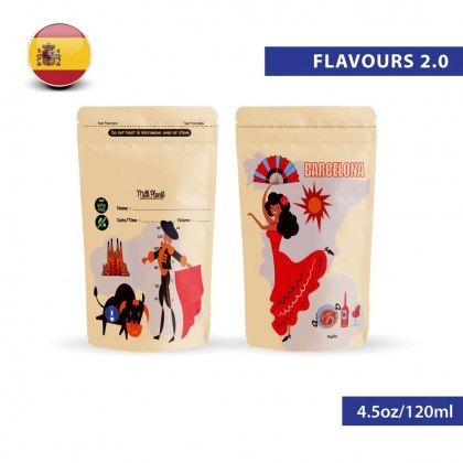 Milk Planet Flavours of the World 2.0 Breastmilk Storage Bags (4.5oz/120ml)