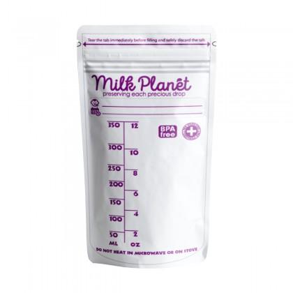 Milk Planet Double Ziplock Value Pack Storage Bags (5oz/7oz/12oz)