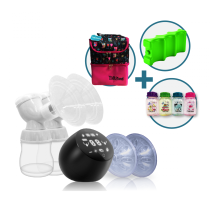 Milk Planet Orbit Dual-motored Breastpump - Free Igloo set