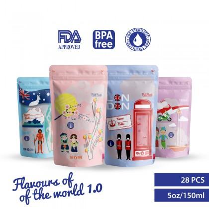 Milk Planet Flavours of the World 1.0 Breastmilk Storage Bag (5oz/150ml)